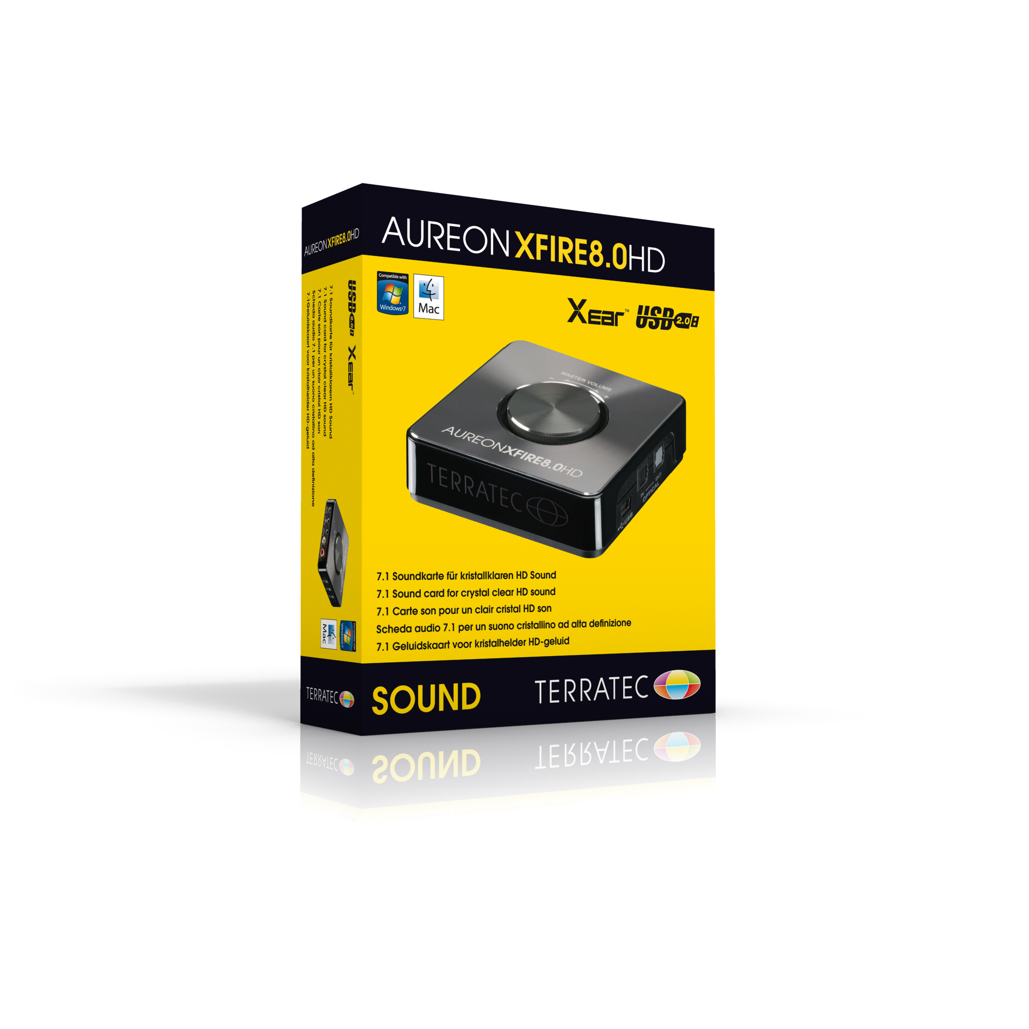 Drivers Update: TerraTec Aureon XFIRE 8.0 HD Sound Card